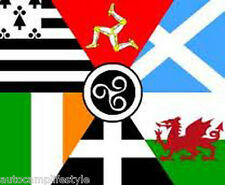Celtic Nations - Triangles Flag  5ft x 3ft