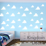 Clouds Childrens Bedroom Wall Vinyl Sticker Decals Toy Story Inspired Cloud Deca