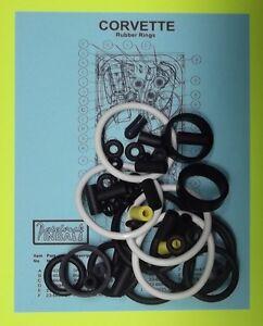 1994 Bally / Midway Corvette pinball rubber ring kit