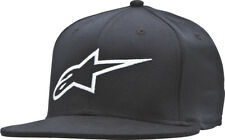 ALPINESTARS AGELESS FLAT BILL HAT BLACK/WHITE L/X 1035-81015-10-L/XL