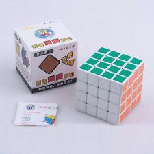 White V4 4x4 Speed Cube Twisty Magic Puzzle 4x4x4 6cm Educational Toys Gift