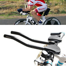 Triathlon Aero Bicycle Bike Tri Bars Relaxlation Handlebars Alloy Arm Rest