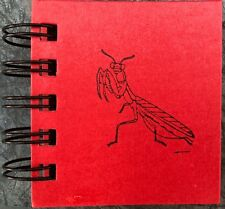 "Mantis Wirebound Sticky Note Book 200 Sheets Office/Pocket/Purse 3.5""x3""x0.75 34;"