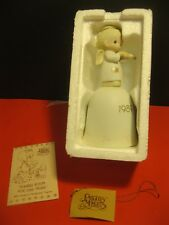 "*Nos! 1989 Precious Moments ""Oh Holy Night� # 522821 Bell / Figurine ~ nvr opnd!"