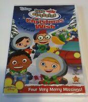 Disney's Little Einsteins The Christmas Wish DVD Factory Sealed NEW With Rewards