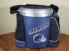 Vintage Los Angeles Chargers Nfl Football Pak Chest Cooler Ice Bucket Lunch Box