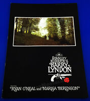 Stanley Kubrick's BARRY LYNDON__Original 1975 Theater Promo_Program_Book_booklet