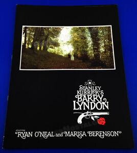 Stanley Kubrick's BARRY LYNDON__Original 1975 Theater Promo_Program_Book_booklet