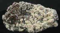 Fluorite with Baryte, Black Forest, Germany, Large Cabinet-Sized Specimen CM146