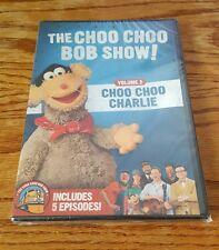 The Choo Choo Bob Show: Volume 2 - Charlie (DVD) trains kids tv series 5 Ep. NEW
