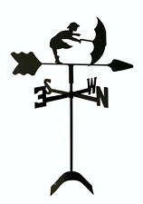 umbrella girl weathervane wrought iron look roof mount made in usa Tls1038Rm