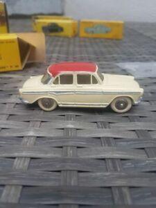 Dinky Toys 544 Simca Aronde P60 Toit Rouge + Boite