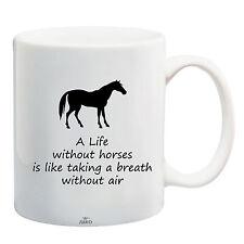 Cotización de caballo jinete Taza Juko una vida sin los caballos Té Café Taza