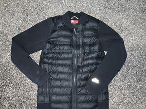 Nike Tech Fleece Aeroloft 800 Goose Down Jacket Bomber Black 67826 S