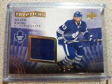 2014-15 UD Trilogy Tryptichs Nazem Kadri 52/400 Toronto Maple Leafs