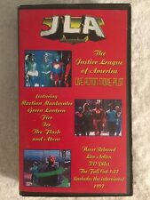 The Justice League of America (Prev. Viewed VHS)Live Action Movie EXTREMELY RARE