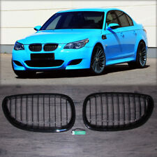 Gloss  Front Kidney Grill Grille For BMW E60 E61 5 Series 2004-2009 2008 NEW