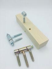 Bohrlehre für Türband 16mm 3-Teilig Bohrschablone Einbohrband Einbohrschablone