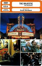 Fiche Cinéma. Movie Card. The Majestic (USA) Frank Darabont 2001