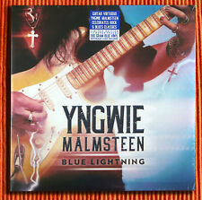 YNGWIE MALMSTEEN – BLUE LIGHTNING  180g Blue Coloured Vinyl 2LP Limited  SEALED