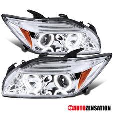 05-10 Scion TC Chrome LED DRL Dual Halo Projector Headlights