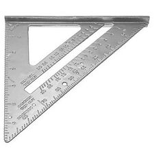 185*185*260mm Speed Square Protractor Miter Framing Measurement Ruler For C C2D1