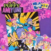 "Hi Hi Puffy Ami Yumi 100 pc 17"" x 12"" jigsaw puzzle Cartoon Network Mattel 2005"