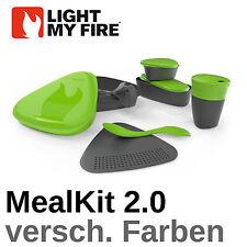 light my fire Meal Kit Mealkit 2.0 Essgeschirr Brotdose Spork Vesperbox Outdoor