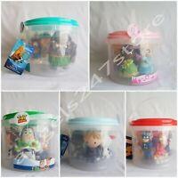 Disney Store Bath Toy Set Princess, Frozen, Moana, Toy Story, Avengers