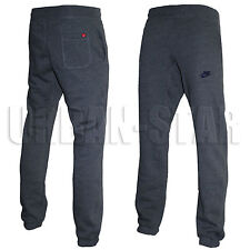 Nuevo Para Hombre Nike De Chándal Polar, Chándal Jogging Pantalones Deportivos Pantalones, pista