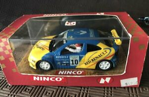 Ninco Renault Megane NC1 motor Mint boxed - Scalextric compatible