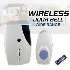 Wireless Door Bell 36 CHIME 20M Range Home Cordless Portable Digital Doorbell