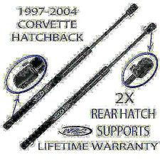2 Rear Hatch Glass Window Arm Rod Lift Supports For 1997-2004 Corvette Hatchback
