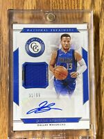 Jalen Brunson 2019/20 NBA Panini National Treasures Auto Jersey #31/99 Mavs 🔥