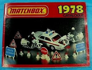Matchbox 1978 Superfast Collectors Catalog.