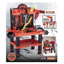 Children's 54pc Tool Bench Play Set Work Shop Strumenti Kit Per Ragazzi Da Lavoro Giocattolo