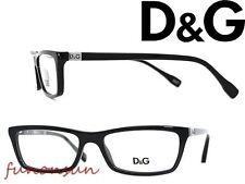 Dolce & Gabbana Women's Eyeglasses D&G 1215 501 Black Plastic Rectangle Frame