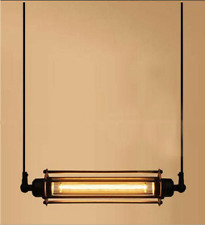 Vintage Industrie Kronleuchter Hängeleuchte Pendelleuchte Loft Pipe Lampe Deko