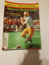 Joe Theismann & Notre Dame stop Texas -Sports illustrated d 1/11/1971