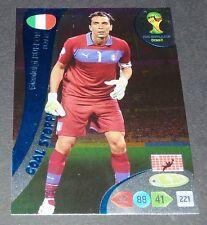 GIGI BUFFON ITALIE ITALIA GOAL FOOTBALL CARD PANINI FIFA WORLD CUP BRASIL 2014
