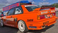 SPOILER ALETTONE POSTERIORE BMW SERIE 3 E30 M3 EVO STILE