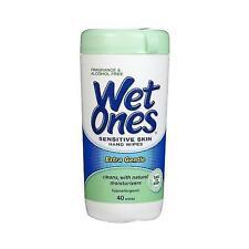 Wet Ones Fragrance Free Sensitive Skin Moist Wipes-40Ea