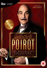 DVD:POIROT COMPLETE SERIES 1 TO 13 COLLECTION - NEW Region 2 UK