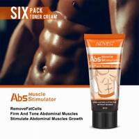 Men Slimming Cream Fat Burning Muscle Belly Stomach Reducer Slim Weight Loss Gel
