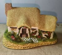 David Winter Cottages Rose Cottage 1980 Hand painted NO BOX Great Britain