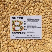 VITAMIN B COMPLEX  180 Tablets  FREE P & P  (L)