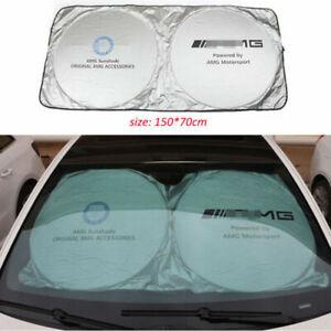 Car Skylights Sun Visors Foldable Sunshade Shield Visor UV Block for Benz