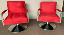 *Mint Condition*Pair of Ethan Allen Disney Animator's Swivel Chairs