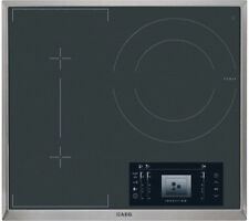 AEG HK683320XG 3 Zone Induction Hob with Stainless Steel Trim