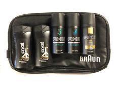 Men's 6 Piece Axe Travel Size Fragrance Deodorant & Body Wash Shower Gel Set